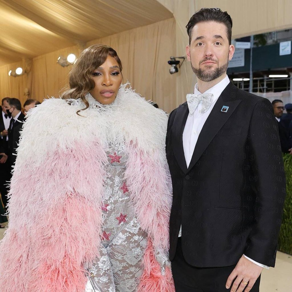 rs x Serena Williams Alexis Ohanian Met Gala Arrivals Red Carpet Fashions Couples